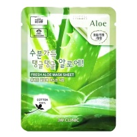 "3W Clinic ""Fresh Aloe Mask Sheet"""
