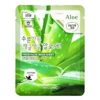 """3W Clinic """"Fresh Aloe Mask Sheet"""""""