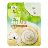 "3W Clinic ""Fresh Snail Mucus Mask Sheet"""