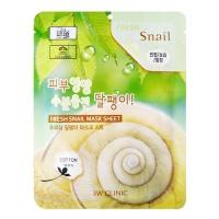 """3W Clinic """"Fresh Snail Mucus Mask Sheet"""""""