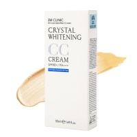 "3W Clinic ""Crystal Whitening CC Cream Natural Beige"""