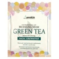 """Anskin """"Grean Tea Modeling Mask"""" (саше)"""