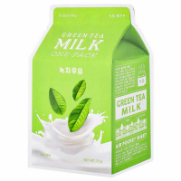 "A'Pieu ""Green Tea Milk One-Pack"""