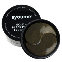 "Ayoume ""Gold + Black Pearl Eye Patch"""