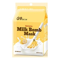 "Berrisom ""G9 Skin Milk Bomb Mask Banana"""