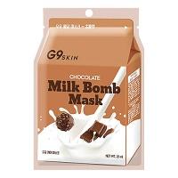 "Berrisom ""G9 Skin Milk Bomb Mask Chocolate"""