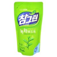 "CJ Lion ""Chamgreen Green Tea"" мягкая упаковка 800мл"