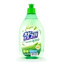"CJ Lion ""Chamgreen Green Tea"" Флакон-дозатор 500g"