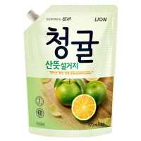 "CJ Lion ""Chamgreen Green Tangerine"" Пакет 970ml"