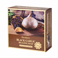 "Deoproce ""Black Garlic Reaging Soap"""