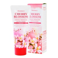 "Deoproce ""Cherry Blossom Lovely Moisture Hand & Body"""