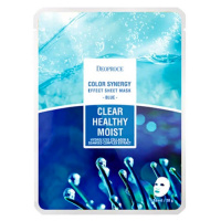 """Deoproce """"Color Synergy Effect Sheet Mask Blue"""""""