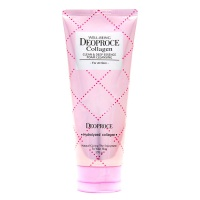 "Deoproce ""Well-Being Collagen Clean & Deep Essence Foam Cleansing"""
