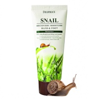 "Deoproce ""Snail Recovery Moisture Hand & Foot Cream"""