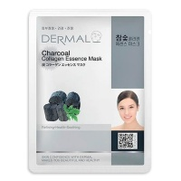 "Dermal ""Charcoal Collagen Essence Mask"""