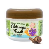 "Elizavecca ""Milky Piggy Glutinous Mask 80% Snail Cream"""