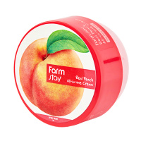 "FarmStay ""Real Peach All-In-One Cream"""