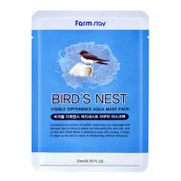 "FarmStay ""Visible Difference Bird's Nest Aqua Mask Pack"""