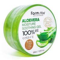 "FarmStay ""Aloe Vera Moisture Soothing Gel"" 300ml"