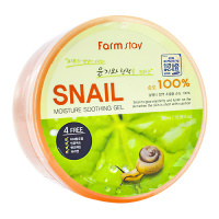 "FarmStay ""Snail Moisture Soothing Gel"" 300ml"