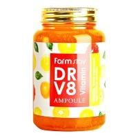 "FarmStay ""DR-V8 Vitamin Ampoule"" 250ml"