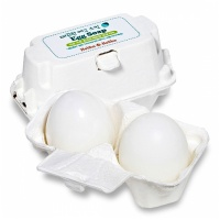 "Holika Holika ""Smooth Egg Skin Egg Soap White"" 2 x 50g"