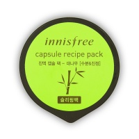 "Innisfree ""Capsule Recipe Pack Bamboo Sleeping Pack"""