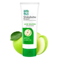 "Lion ""Shokubutsu Monogatari Acne Solution Apple & Green Tea"""
