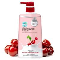 """Lion """"Shokubutsu Monogatari Cherry & Hokkaido Milk"""""""