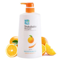 "Lion ""Shokubutsu Monogatari Orange Peel Oil Shower Cream"""