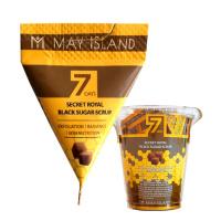 """May Island """"7 Days Secret Royal Black Sugar Scrub"""""""