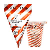 "May Island ""7 Days Secret Vita Plus-10 Slipping Pack"""