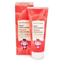 "Milatte ""Fashiony Fruit Foam Cleanser Peach"""