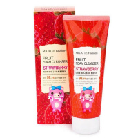 "Milatte ""Fashiony Fruit Foam Cleanser Strawberry"""
