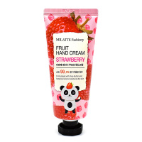 "Milatte ""Fashiony Fruit Hand Cream Strawberry"""