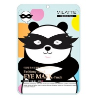 "Milatte ""Fashiony Black Eye Mask Panda"""