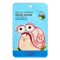 "Milatte ""Fashiony Snail Mask Sheet"""