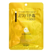 "Mitomo ""Bee Venom + Gold Essence Sheet Mask"""