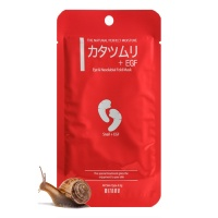 "Mitomo ""Eye & Cheek Mask Snail + EGF"""