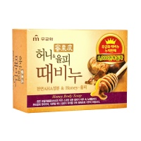 "Mukunghwa ""Honey & Chestnut Scrub Soap"""