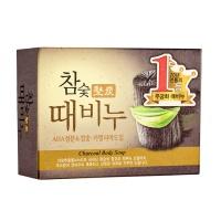 "Mukunghwa ""Hardwood Charcoal Scrub Soap"""