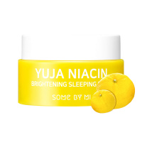 "Some By Mi ""Yuja Niacin Brightening Sleeping Mask"" 15g mini"