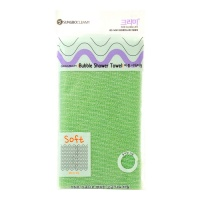 "Sung Во Cleamy ""Clean & Beauty Bubble Shower Towel"" Green"