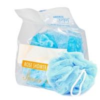 "Sung Bo Cleamy ""Clean & Beauty Flower Ball Rose Shower Ball"" Blue"