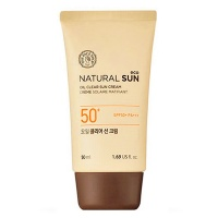 "The Face Shop ""Natural Sun Eco Oil Clear Sun Cream"""