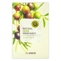 "The Saem ""Natural Olive Mask Sheet"""