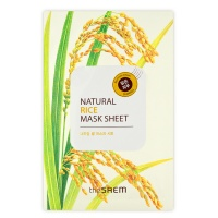 "The Saem ""Natural Rice Mask Sheet"""