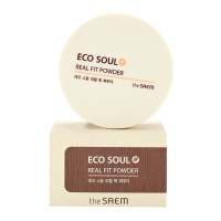 "The Saem ""Eco Soul Real Fit Powder Natural Beige"""
