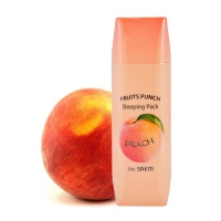 "The Saem ""Fruits Punch Peach Sleeping Pack"""