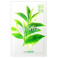 "The Saem ""Natural Green Tea Mask Sheet"""